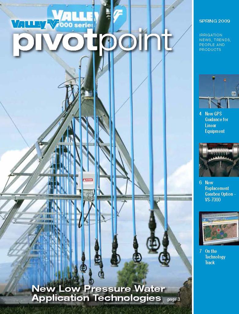 Valley PivotPoint Newsletter Spring 2009