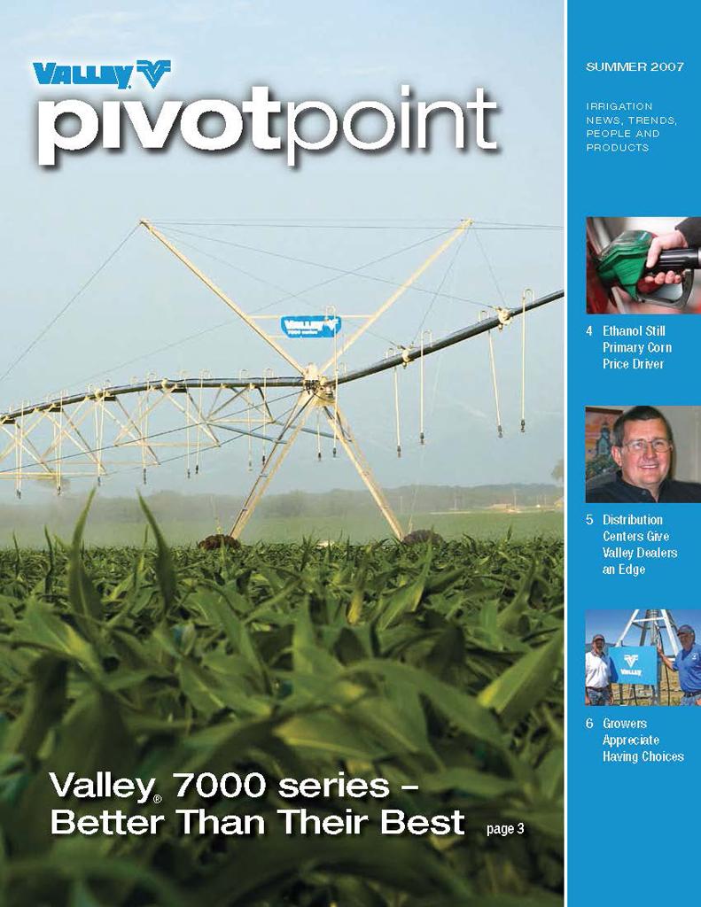 Valley PivotPoint Newsletter Summer 2007