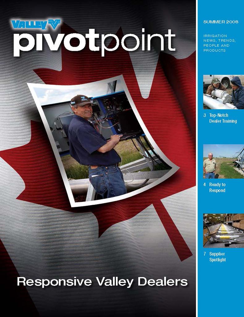 Valley PivotPoint Newsletter Summer 2008 Canada