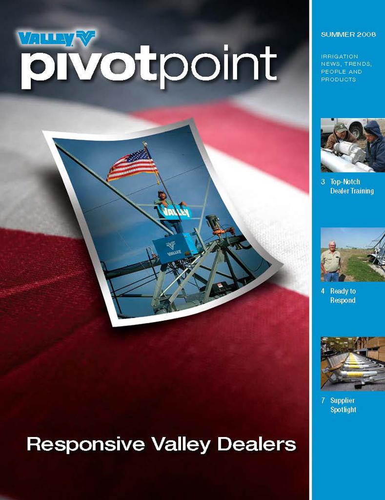 Valley PivotPoint Newsletter Summer 2008 USA