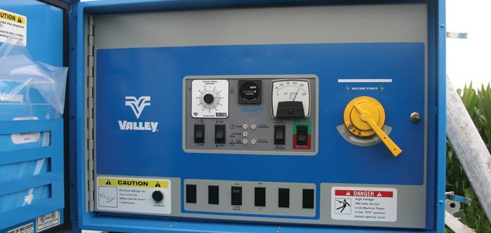 Panel de control ClassicPlus de Valley