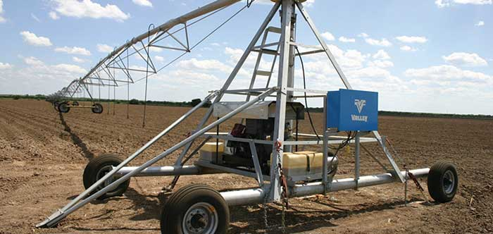 Towable Center Pivot