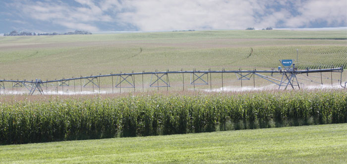 Valley VRI Zone Control for Center Pivots