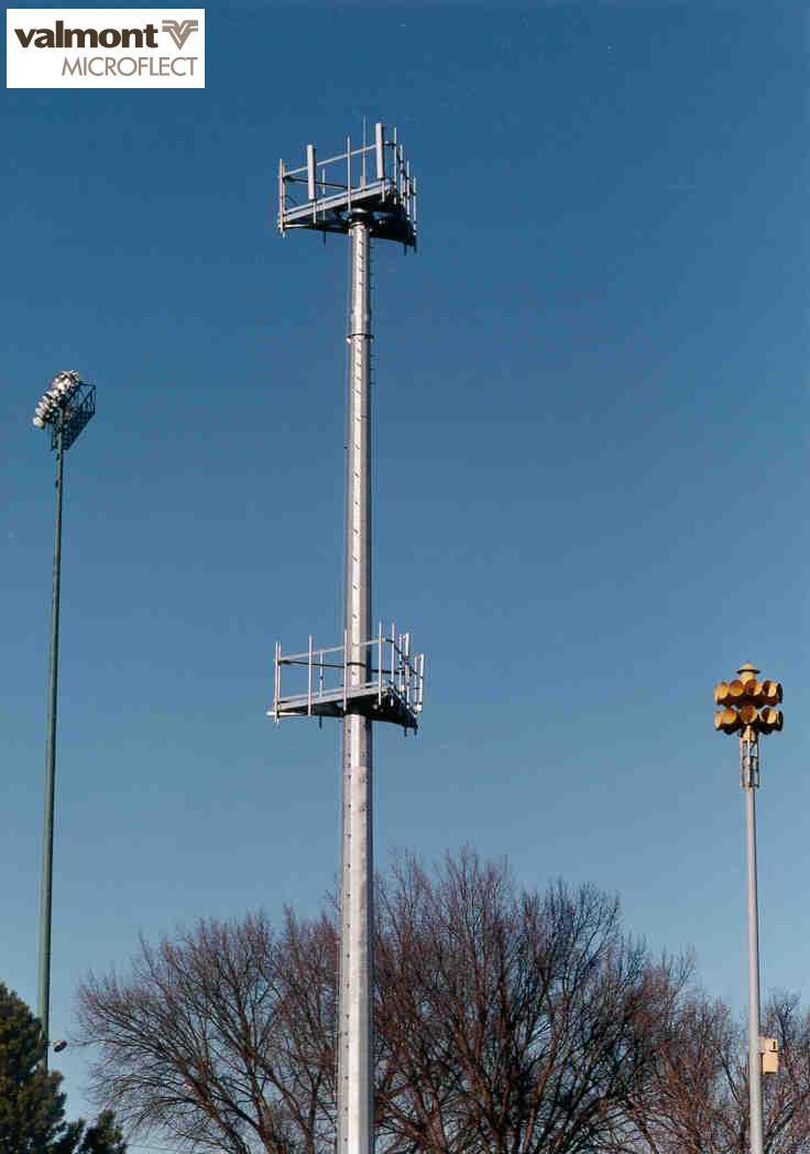 Monopole Towers For Wireless Communications
