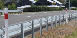 NZ picton guardrail 1
