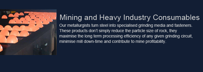 Mining and Heavy Industry Consumables