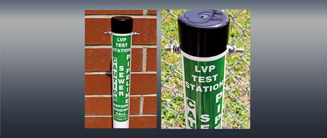 LVP-Utility-Header-Carsonite-Little-Visi-Post-Test-Station