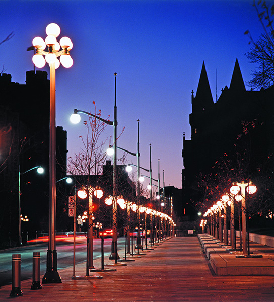 Light Pole Design: Valmont Structures Canada Light Poles, Lamp Posts And