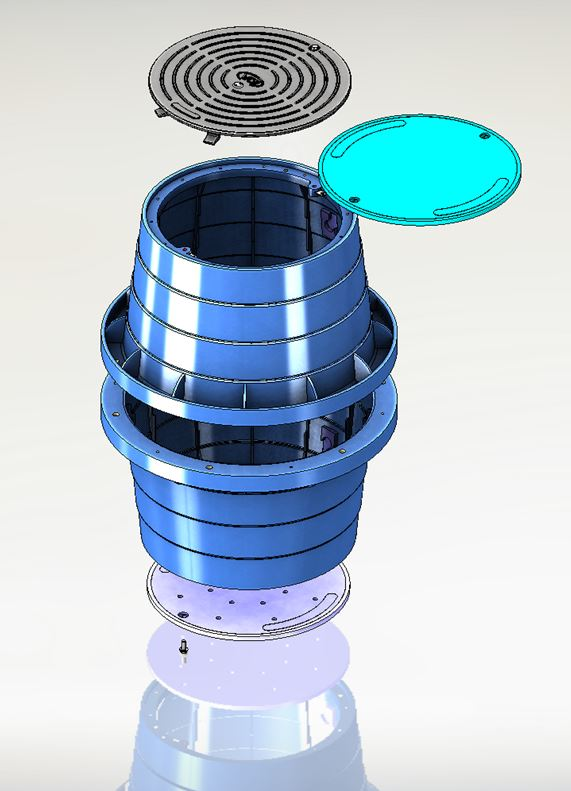 Junction-Box-Large-Round-Rendering