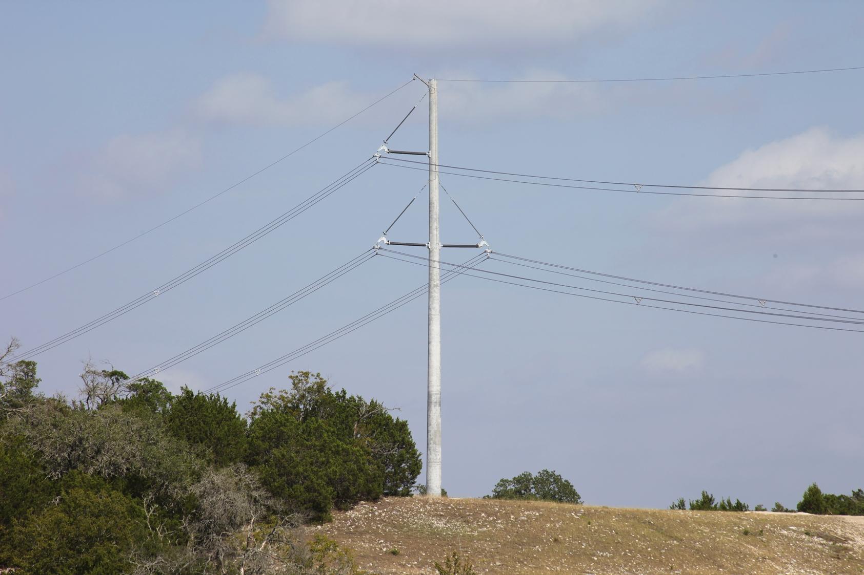 Concrete Electric Poles : Composite structures