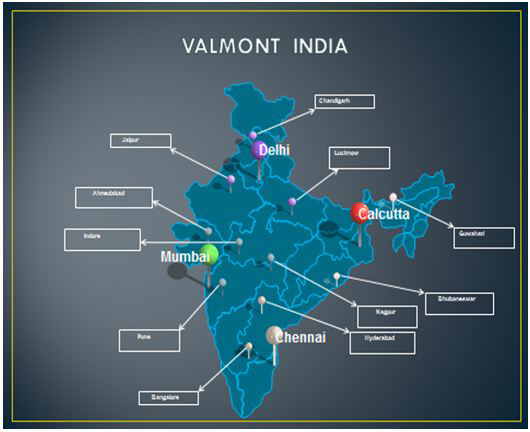 Valmont India Locations