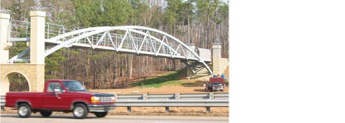 Pedestrian Bridge HSS SuperStruct
