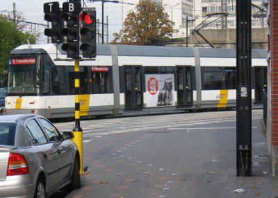 Belgium-Verkeerslicht