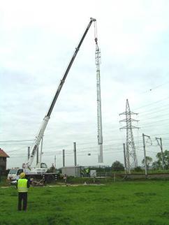 Telecom-pole