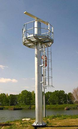 Verkeer-Radar-Masten