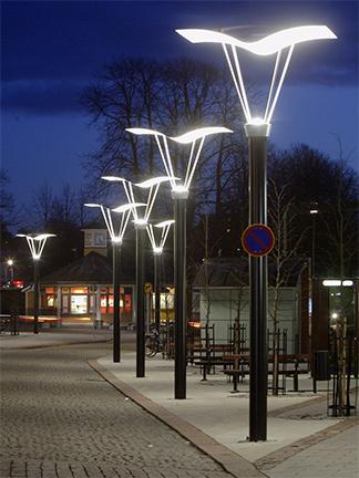 Valmont Decorative Light Poles