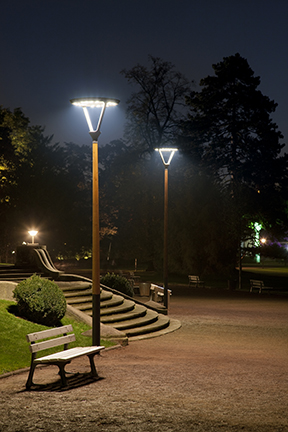 Verlichting-Houton-Lichtrmasten