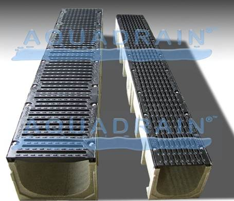Webforge Aquadrain Polymer Concrete Drainage Channels