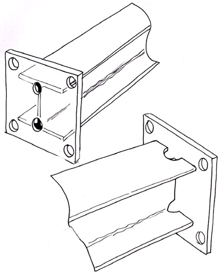 galvanizing options_for_draining_end_plates