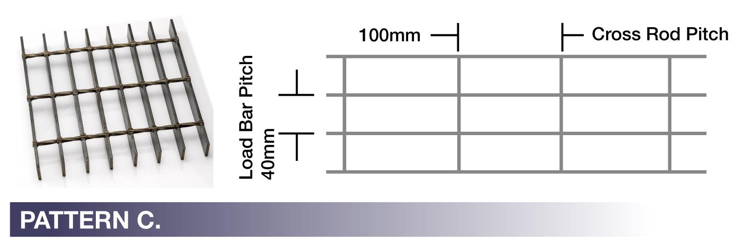 STEEL PATTERN C