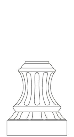 D8M - Decorative Base