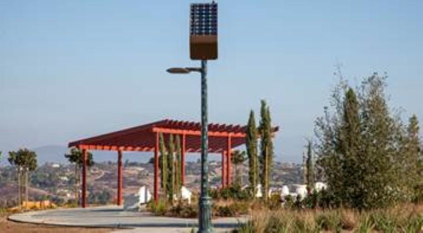 Solar Panel Pole