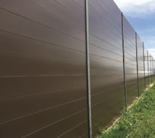 AcoustaShield12-inch high horizontal panel system