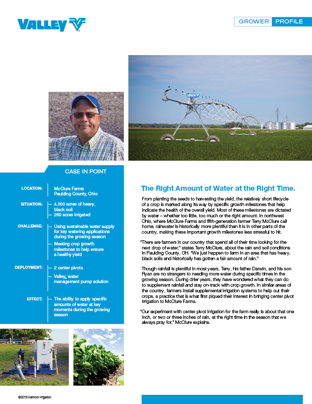 valley case study - terry mcclure