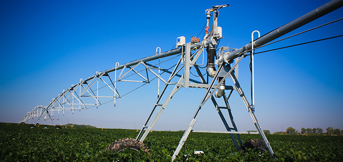 valley dropspan for center pivot irrigation systems