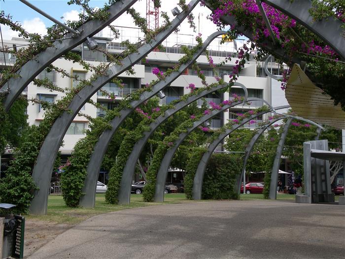 Galvanized Arbour Brisbane