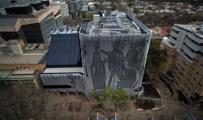 Galvanized Building Melbourne