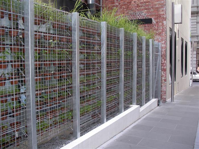 Newcastle Galvanized Fence
