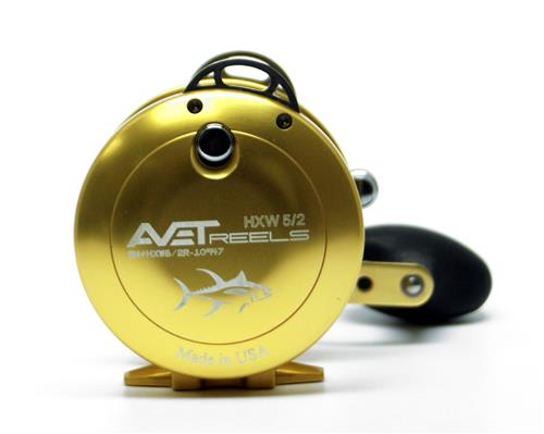 Yellow Anodize Avet Fishing Reel