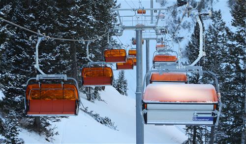 Galvanized Ski Lift