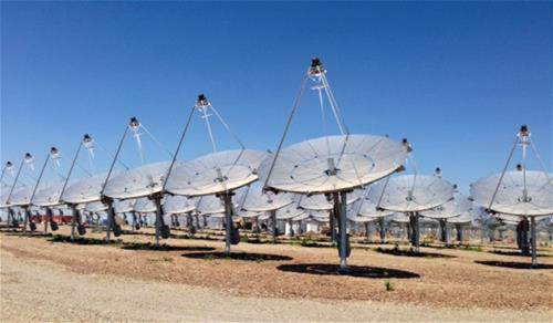 Galvanized Solar Array Utah