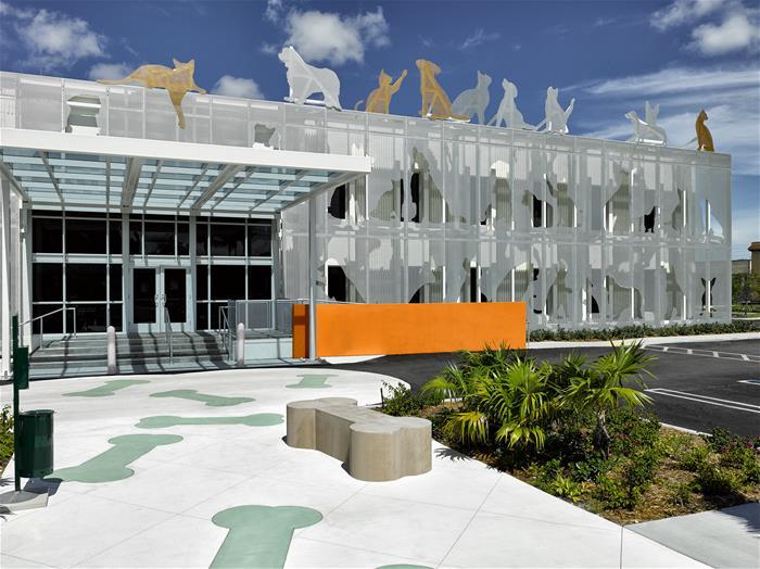 Miami Galvanizing Steel Facade