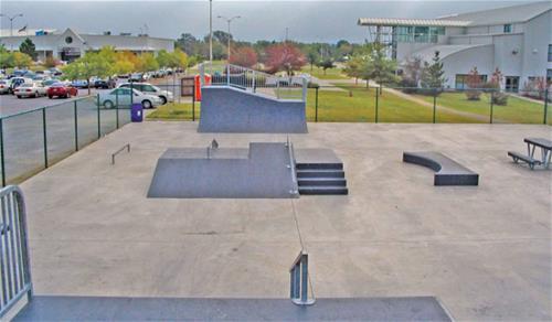 Galvanized Skate Park Oklahoma