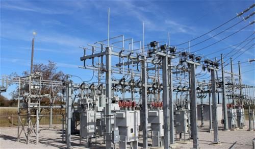Galvanized Substation Oklahoma