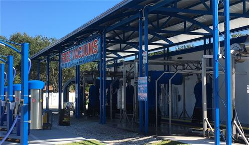 Galvanized Car Wash Florida