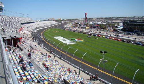 Galvanized Steel Daytona Speedway