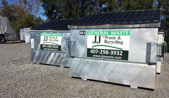Galvanized Steel Dumpsters Florida