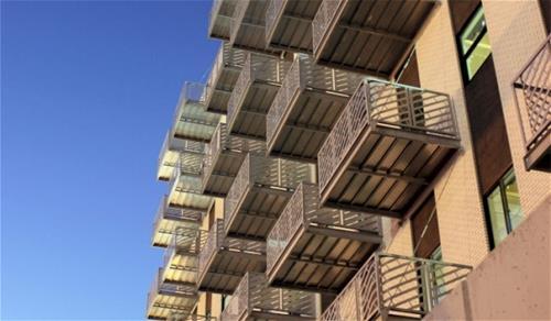 Galvanized Balcony Nebraska