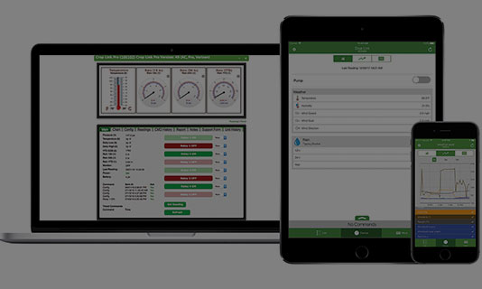 agsense applications - pump and aux control