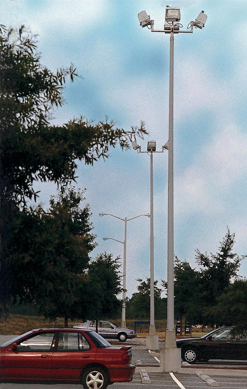 Round Tapered Tuff-Poles